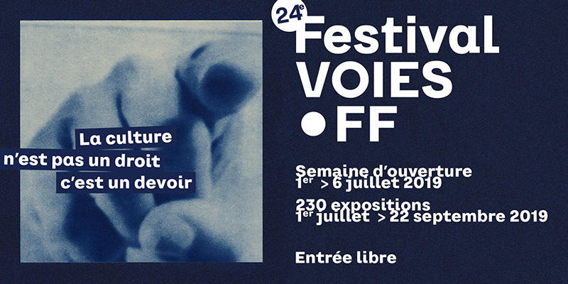 """My work is selected for """"The Prix Voies Off 2019"""", Arles France"""