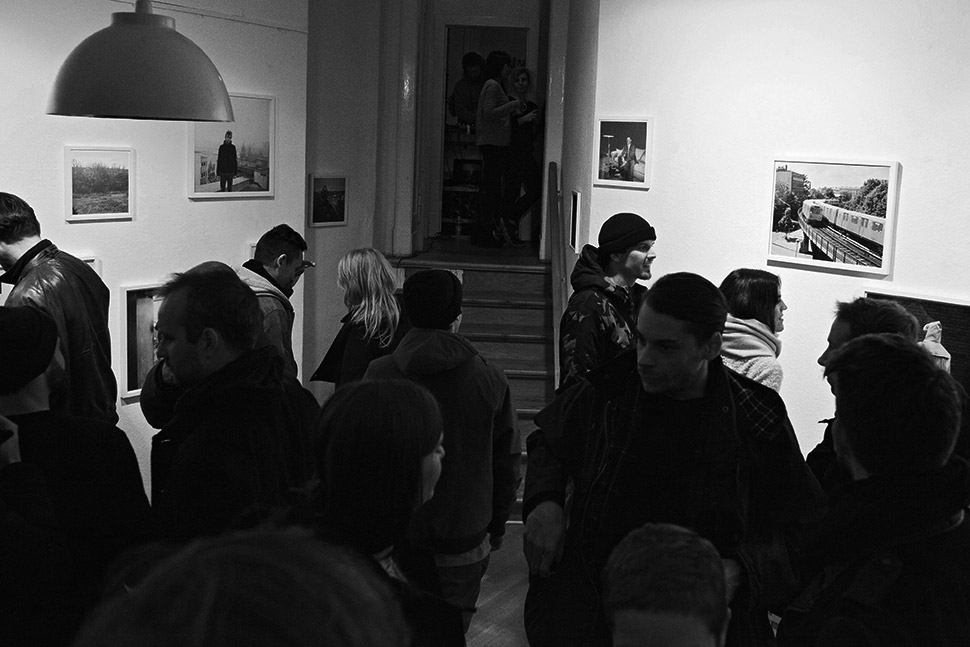 burning down the house book release and exhibition at gallery Alles Mögliche in Berlin